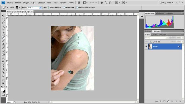 Como Quitar Granos, Lunares y Manchas con Photoshop - http://solucionparaelacne.org/blog/como-quitar-granos-lunares-y-manchas-con-photoshop/