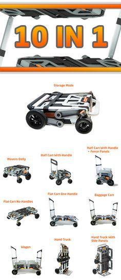 EROVR - A Transformable Dolly, Wagon, & Cart | Indiegogo