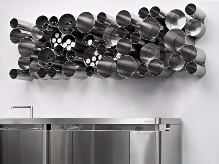 Stainless steel bottle rack / pantry BUBBLE TOOLS by Xera Cucine  #XeraCucine @dmoscheri    #design