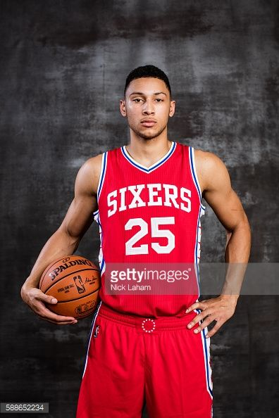 Ben Simmons of the Philadelphia 76ers poses for a portrait during the...