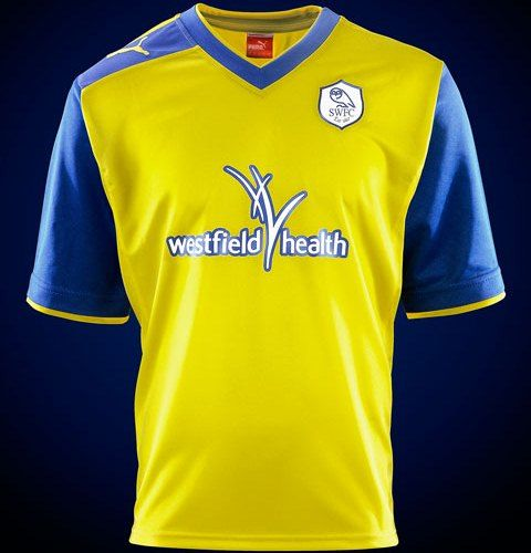 This is the new Sheffield Wednesday away kit 2012/2013, Sheffield Wednesday FC's new away shirt for the forthcoming 12/13 season. SWFC's new 2012/13 away strip has been made by Puma and…