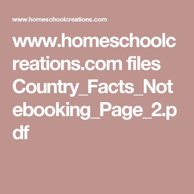 www.homeschoolcreations.com files Country_Facts_Notebooking_Page_2.pdf