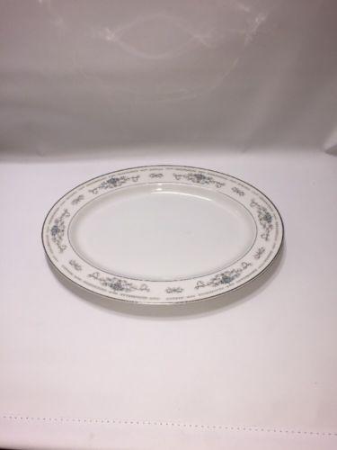 """Fine Porcelain China DIANE Oval Serving plate 12"""" Japan in Pottery, Porcelain & Glass, Porcelain/China, Other Porcelain/China   eBay"""