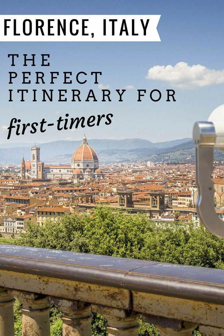 What To Do In Florence Italy The Perfect Itinerary For First Time Visitors To Firenze This Travel Guide Covers Florence Travel Italy Vacation Italy Travel