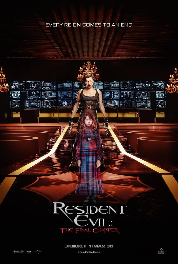 Return to the main poster page for Resident Evil: The Final Chapter (#16 of 16)