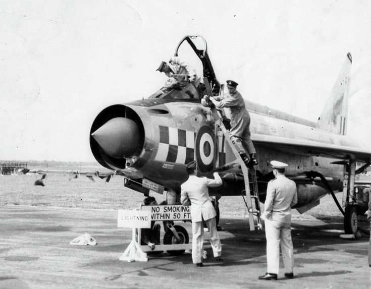English Electric Lightning - 56 Squadron, Royal Air Force (RAF), Great Britain
