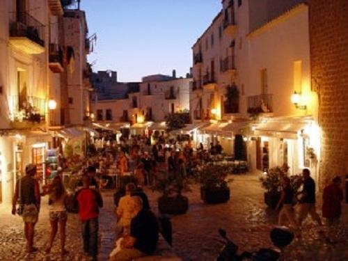 Ibiza. Old Town