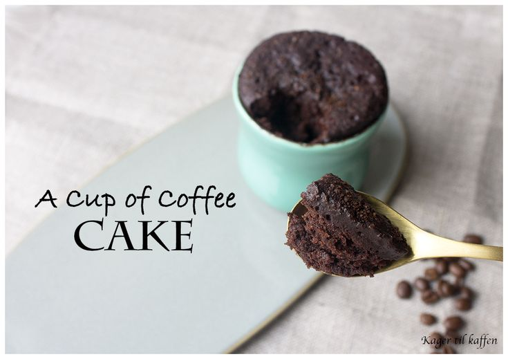A Cup of Coffee Cake