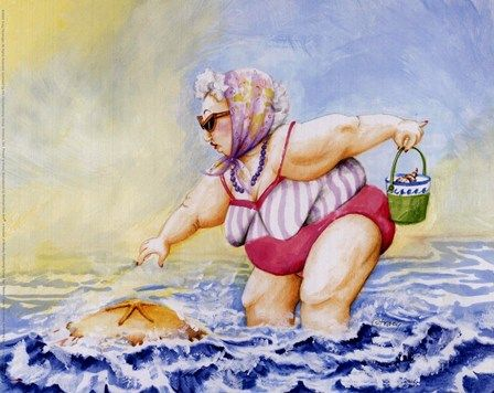 Bathing Beauty #3 Fine-Art Print by Tracy Flickinger at FulcrumGallery.com