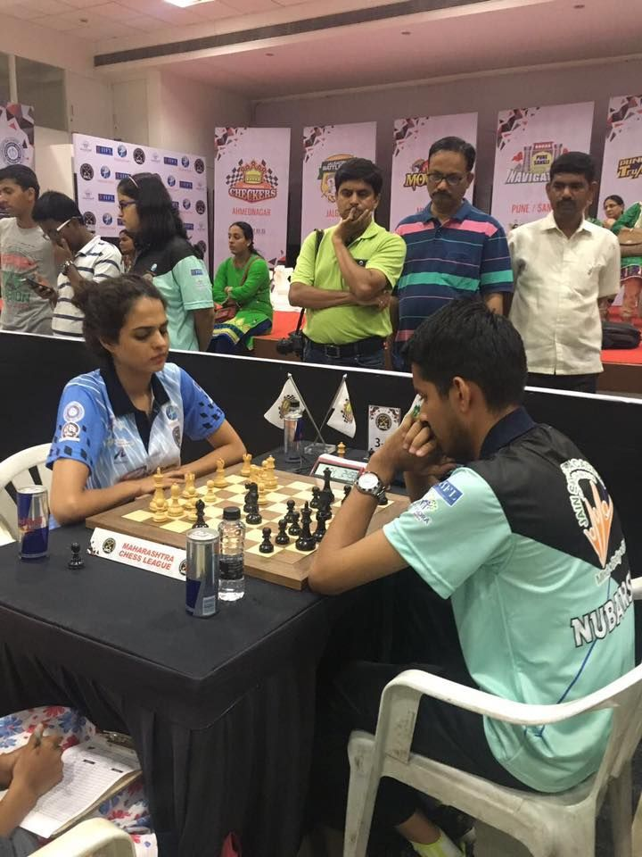 Tania Sachdev at the Maharashtra Chess League  visit : chessforchildren.in  #chess #playchess #learnchess #chessforchildren #MCL