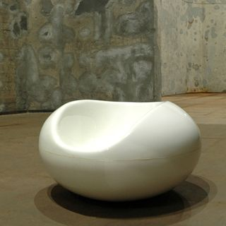 White Pastil Chair