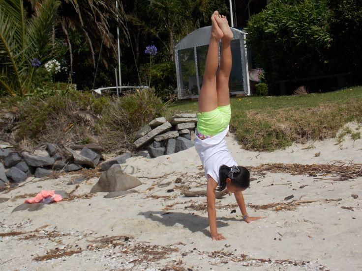 normal handstand