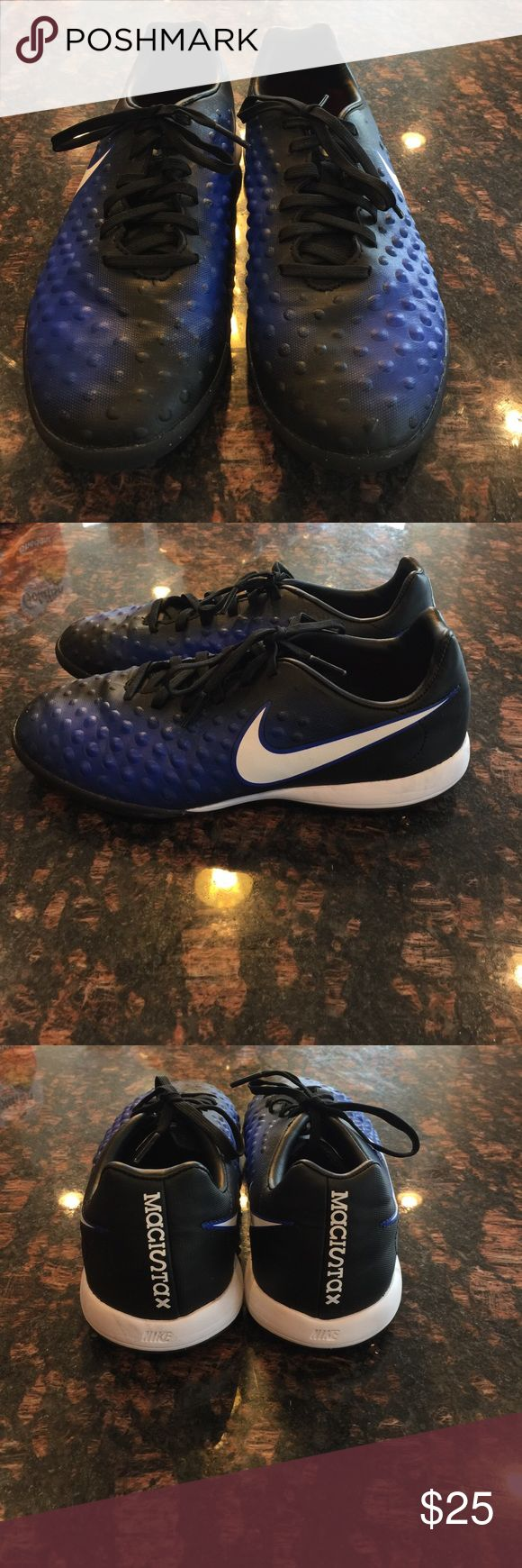 Nike Soccer Turf Cleats Nike Soccer Turf Cleats in excellent condition.  Very rarely worn. Nike Shoes