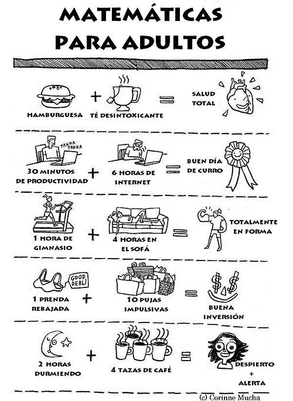 Matemáticas para adultos