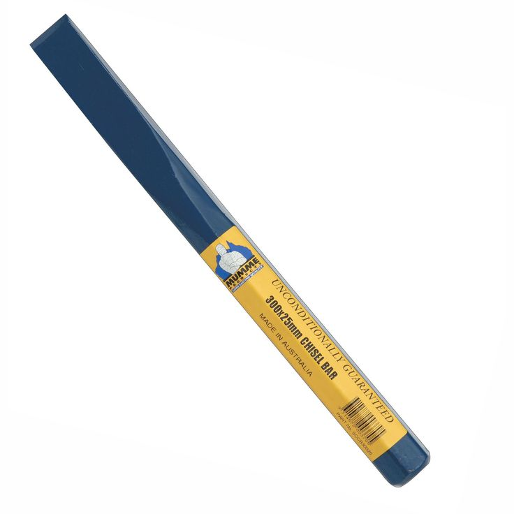 300X25mm Chisel Bar | Mumme Products - Quality Forged Hand Tools