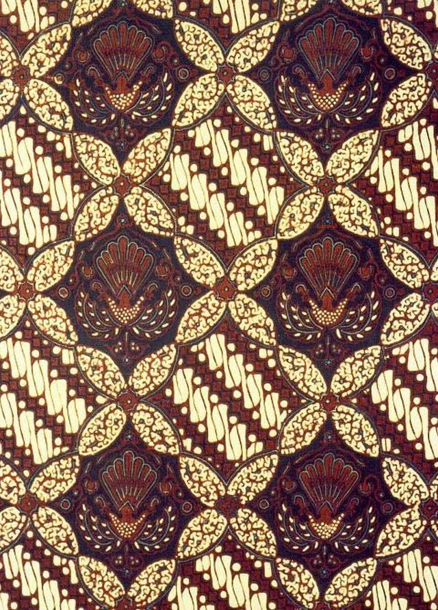 Gambar Batik Yogyakarta - motif ceplok parang
