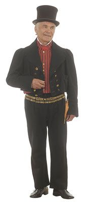 Etelä-Pohjanmaan miehen kansallispuku. Tarkistettu malli. Juhlahelavyö. Liivi yksirivinen,