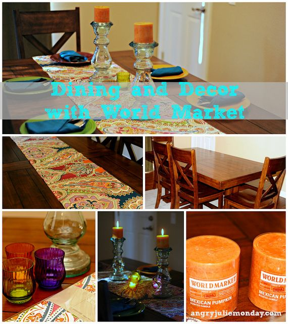 World Market Santa Fe Inspired Dining by AngryJulieMonday, check out her great finds from @WorldMarket #WorldMarketSweeps: Fe Inspired, Apartment Life, Decorating Ideas, Worldmarket Worldmarketsweeps, Dining Decor, Posts Angry Julie, Fall Refresh, Crafty Ideas