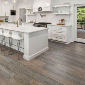 Select Surfaces Driftwood Laminate Flooring Sam S Club In 2020 Laminate Flooring House Flooring Flooring