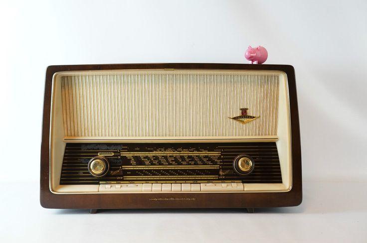Nordmende Parsifal Röhrenradio Radio Valves Stereo  gecheckt top Sound 60er