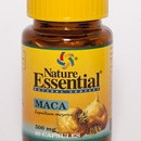 "Maca, (Lepidium meyenii) 50 cáp. de 500 mg. ""Energético"" Nature Essential. $8.40"