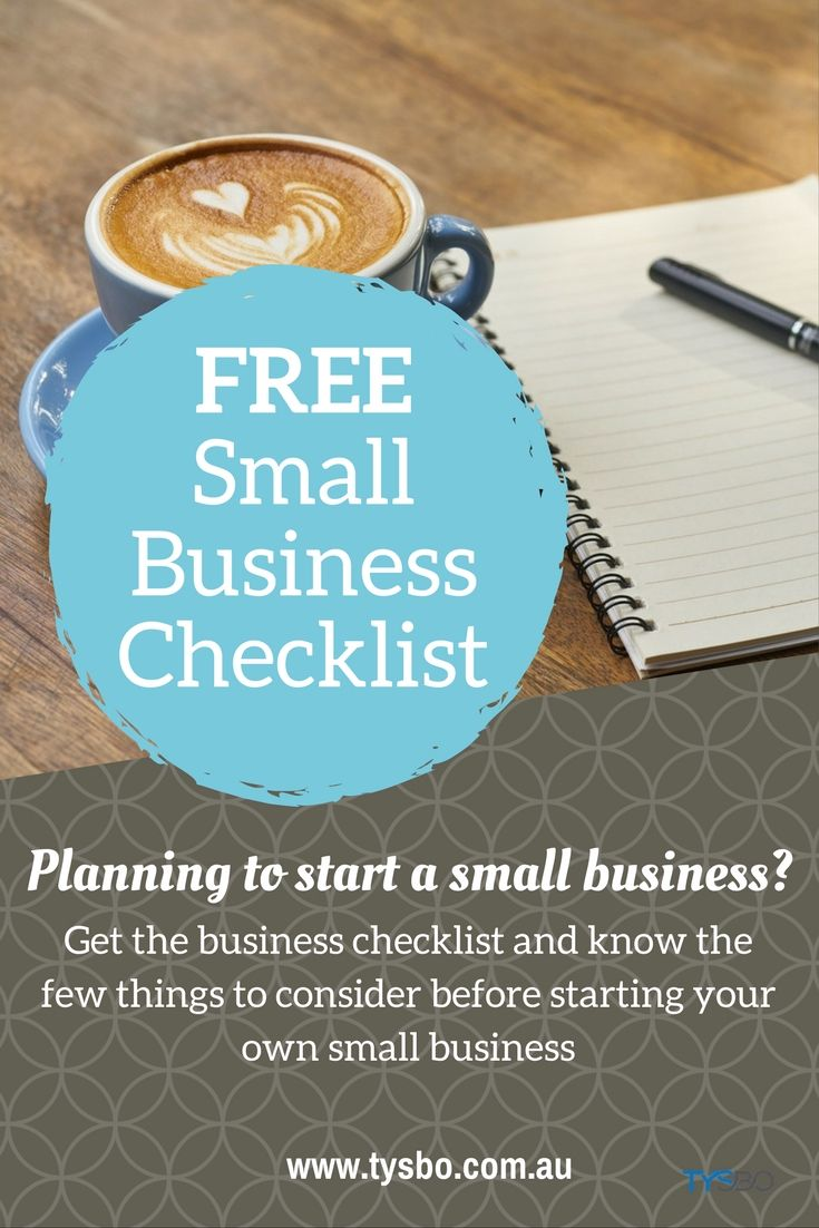 Know a few things to consider before starting your own small business. Grab this FREE printable small business checklist!