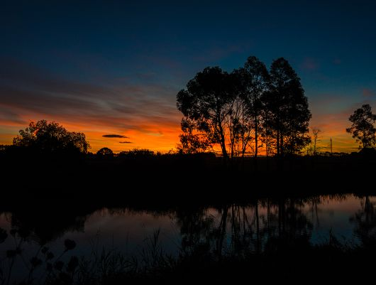 Wingecarribee River  We've been lucky lately to have some lovely sunsets to finish off some glorious late summer evenings. - Chris Sutton - Google+