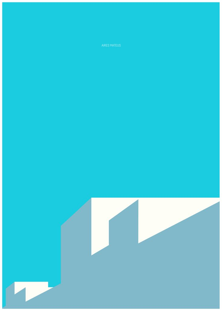 arch_it piotr zybura architecture poster no.16.  Aires Mateus.