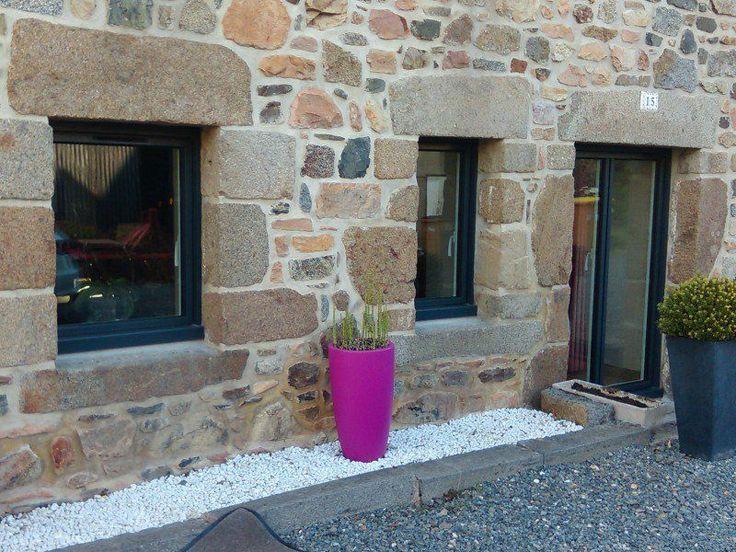 Menuiseries aluminium gris anthracite futur deco - Maison de vacances deborah french design ...