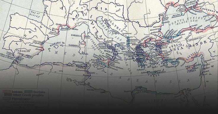 Πόντος=7ος - 4ος αιώνας π.Χ. Αποικισμός και εγκατάσταση-Οι δύο αιώνες μετά το 750 π.Χ. είναι από τους πιο ενδιαφέροντες στην παγκόσμια ιστορία. Οι Έλληνες ξεκίνησαν τη δεύτερη φάση της αποικιακής τους επέκτασης και γέμισαν τις ακτές της Μεσογείου και του Εύξεινου Πόντου με τις νέες τους αποικίες..
