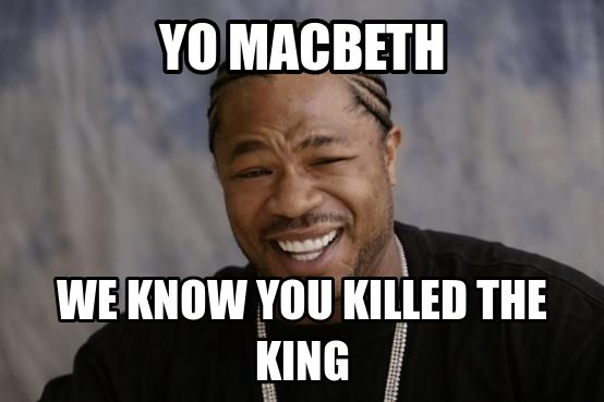 dramatic irony in macbeth What are two examples of dramatic irony found in shakespeare's macbeth act 3, scene 1.