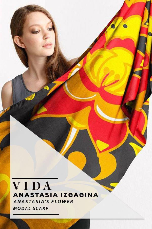 Modal Scarf - 3D Dots by VIDA VIDA PbQbRP