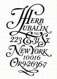 logo of Herb Lubalin Inc.