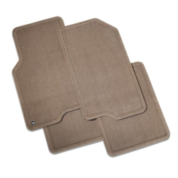 2015 #Volt Floor Mats, Front & Rear Carpet Replacements, Cashmere: These Front and Rear Carpet Replacement Floor Mats provide the same fit as factory mats for your Volt with a quality carpeted surface.