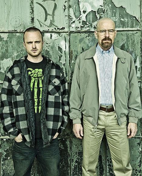 Aaron Paul and Bryan Cranston Breaking Bad season 5