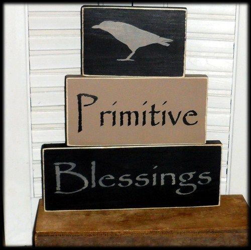 Primitive Wooden Kitchen Signs: 17 Best Images About Primitive Home Decor On Pinterest