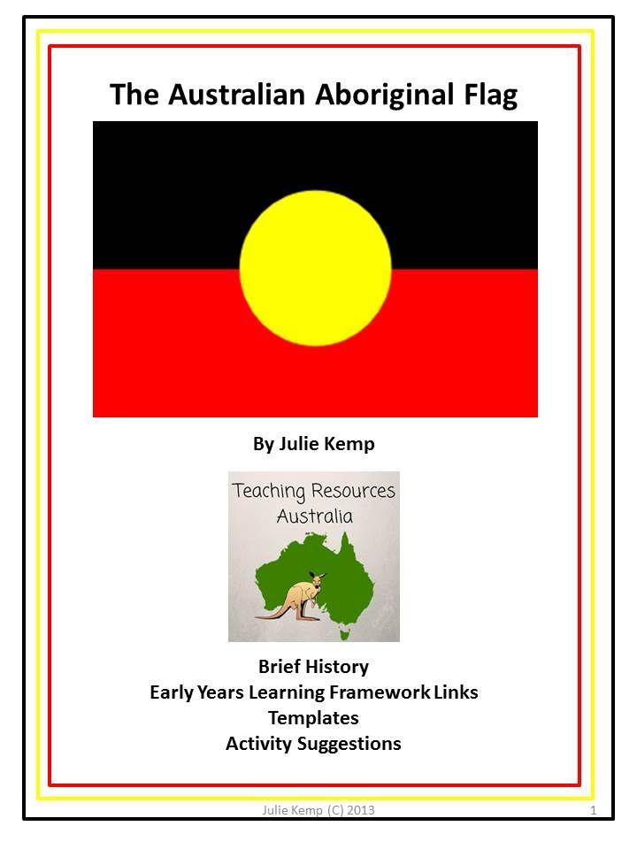 Aboriginal Flag booklet dbt pic 1