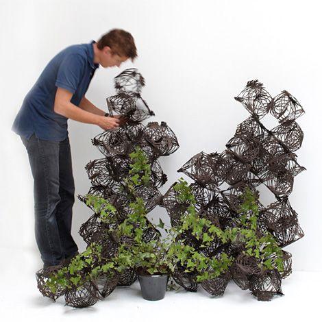Le projet « Tumbleweed » - Tuteur pour végétation