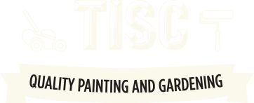 Tisc Painting and Gardening Services includes interior and exterior painting; landscaping; mowing; edging; weeding; laying turf, garden fencing and paving