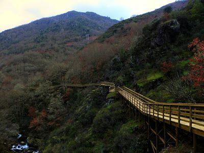 Turismo Enxebre: Senda do rio Mao (Ruta sobre pasarelas de madera)