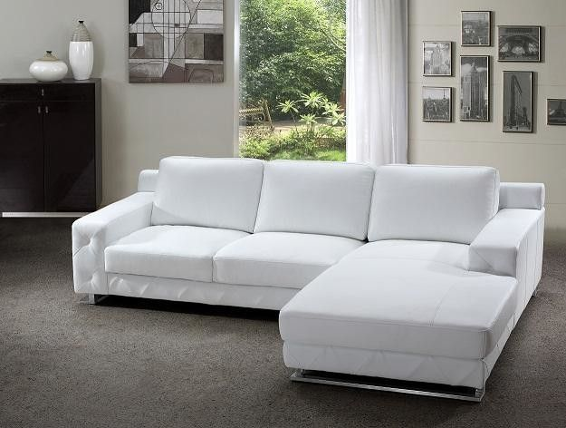 Cool White Leather Sectional Sofas , Trend White Leather Sectional Sofas 96  With Additional Modern Sofa
