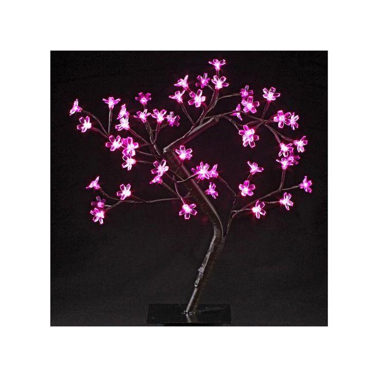 Arbre Lumineux Led À Poser Prunus 48 Led – Blanc – Taille : Taille Unique
