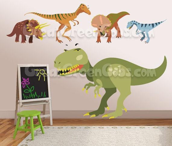 14 best images about liam livy and flynn stuff on for Dinosaur wall decals for kids rooms