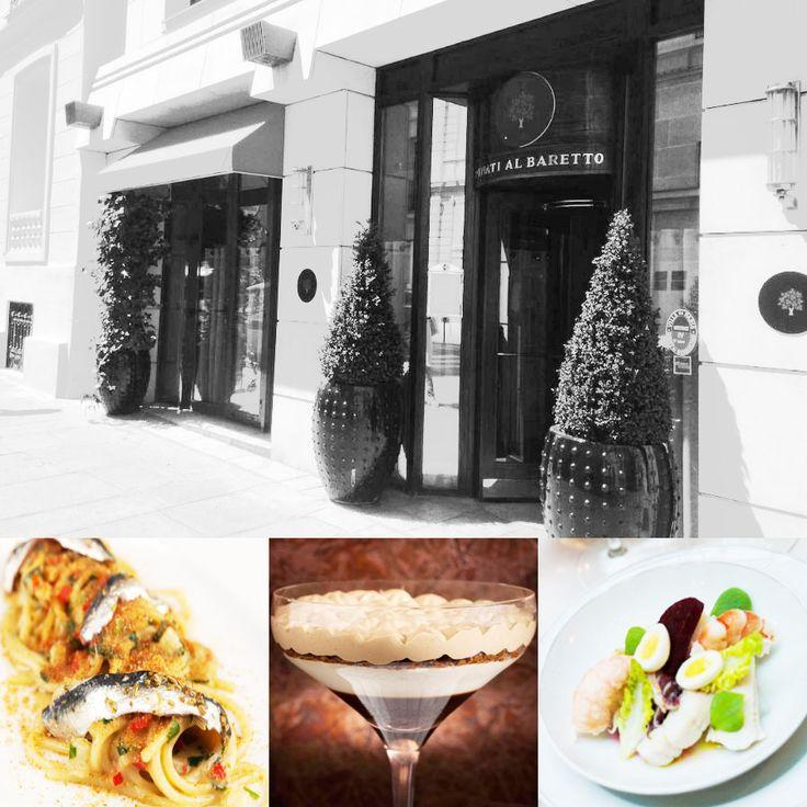 1 star - Restaurant Penati Al Baretto - Paris #italianfood #italianchef #italianrestaurant www.100ITA.com