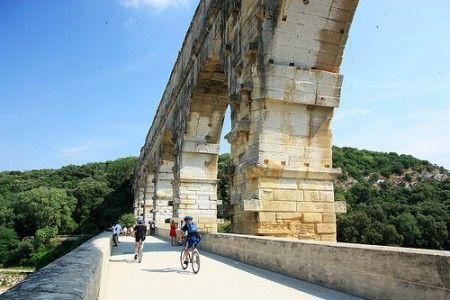 Acueducto Pont du Gard - Obra maestra de edificación antigua