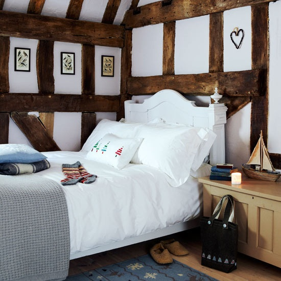 Christmas Country Cottage The White Plasterboard And