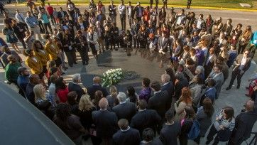 Civil Rights Memorial Wreath Laying 2017