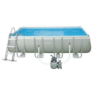 PISCINE INTEX Ultra Frame Pool Set Piscine rectangulaire t