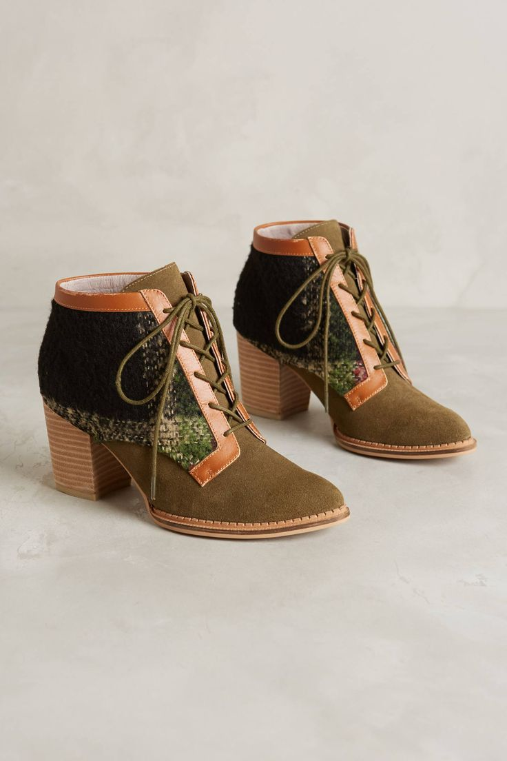 at Anthropologie Pilcro Lace-Up Booties