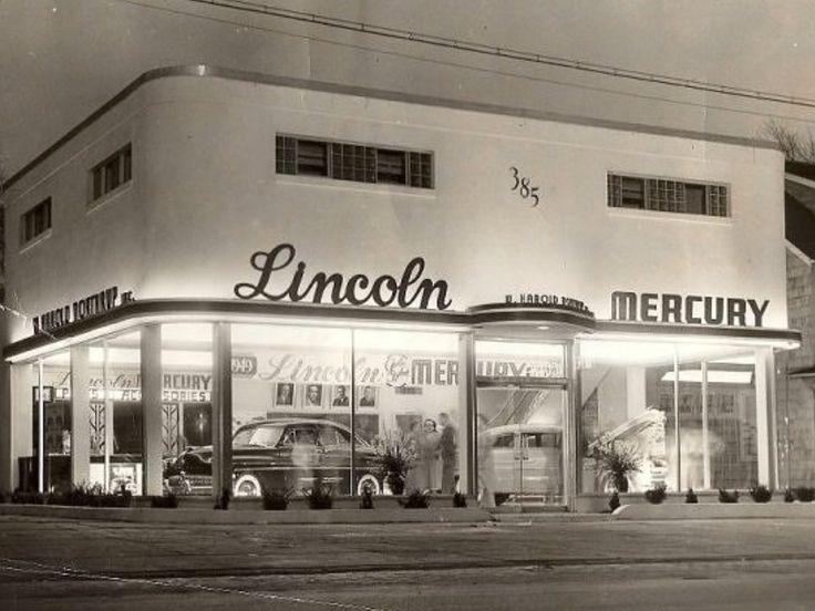 1949 Lincoln Mercury Dealership, Batavia, New York Car